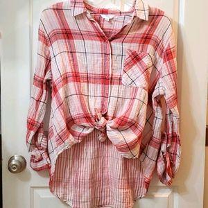 Time n True Button down shirt